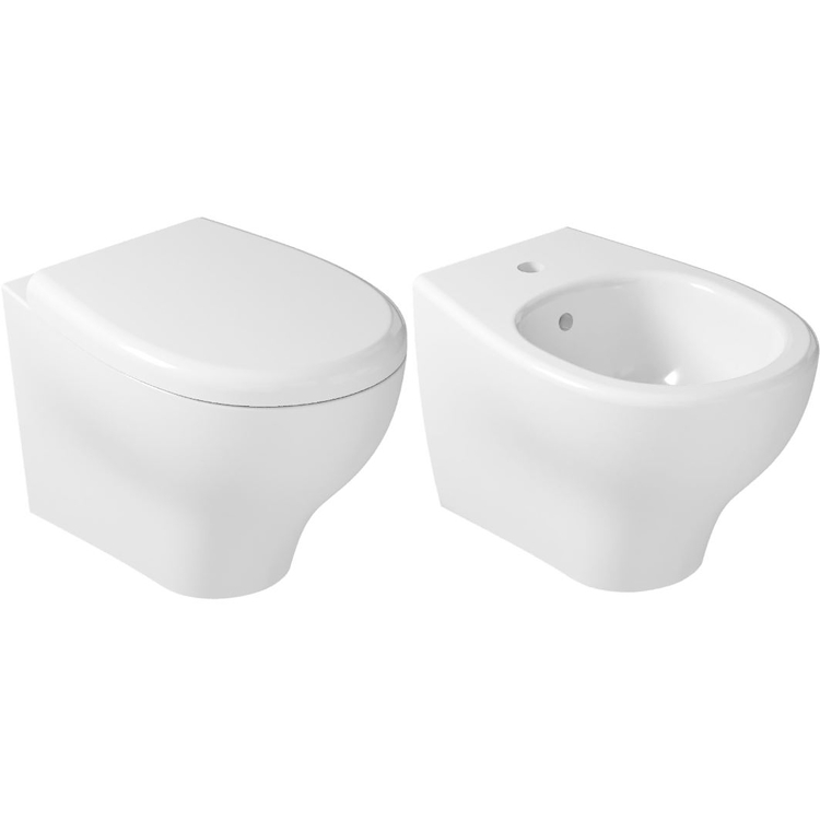 SERIE EDEN SOSPESA WC + BIDET + SEDILE RALLENTATO product photo