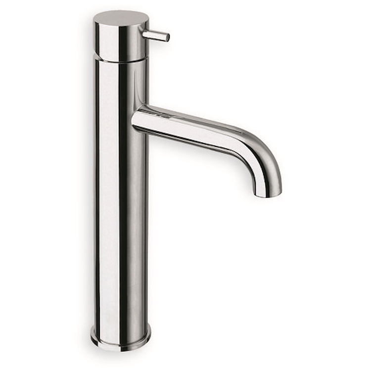 "TRICOLORE VERDE TV227 MISCELATORE LAVABO MEDIUM PILETTA 1""1/4 UP&DOWN CROMATO codice prod: LISTV22751 product photo"