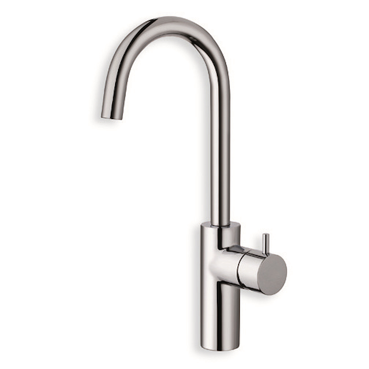 "TRICOLORE VERDE TV226 MISCELATORE LAVABO REGULAR PILETTA 1""1/4 UP&DOWN CROMATO codice prod: LISTV22651 product photo"