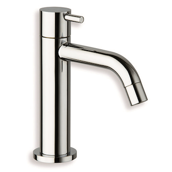 "TRICOLORE VERDE TV240 RUBINETTO 1/2"" ACQUA FREDDA CROMATO codice prod: LISTV24051 product photo"