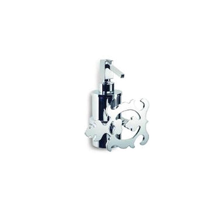 GRIMILDE 9028 DOSATORE SAPONE SINISTRO CROMATO codice prod: 11990280000 product photo