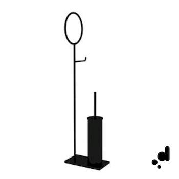 MOON PIANTANA SERVIZIO WC E BIDET NERO SEPPIA codice prod: 14703720800 product photo Default L2