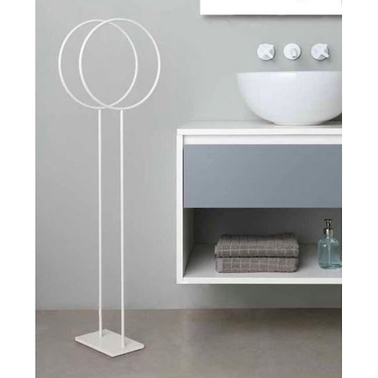 MOON 376 PIANTANA PORTA SALVIETTE BIANCO SALE codice prod: 14703760200 product photo