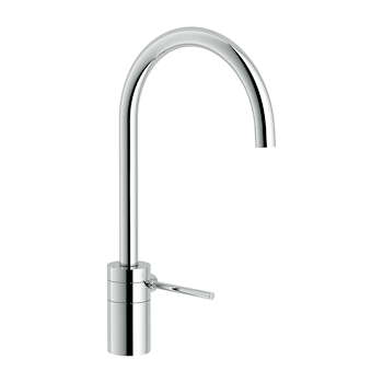 PLUS PL00113 MISCELATORE LAVELLO BOCCA GIREVOLE CROMATO codice prod: PL00113CR product photo