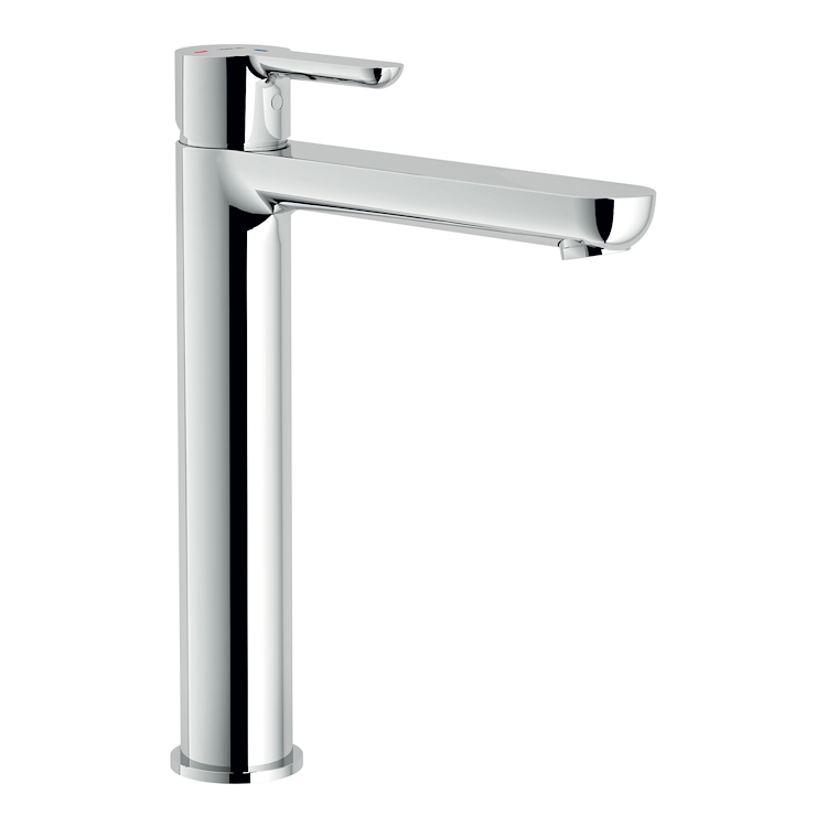 ABC RUBINETTO LAVABO MONOLEVA A BOCCA ALTA codice prod: ABE87128/2CR product photo