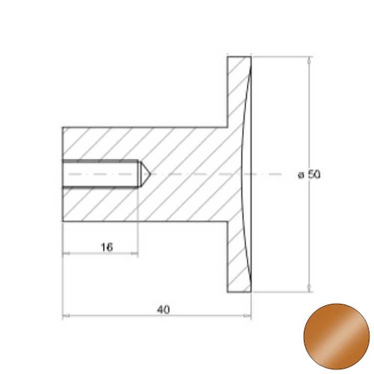 OFFICINA 02 4574 APPENDINO SINGOLO BRONZO codice prod: 11445748000 product photo