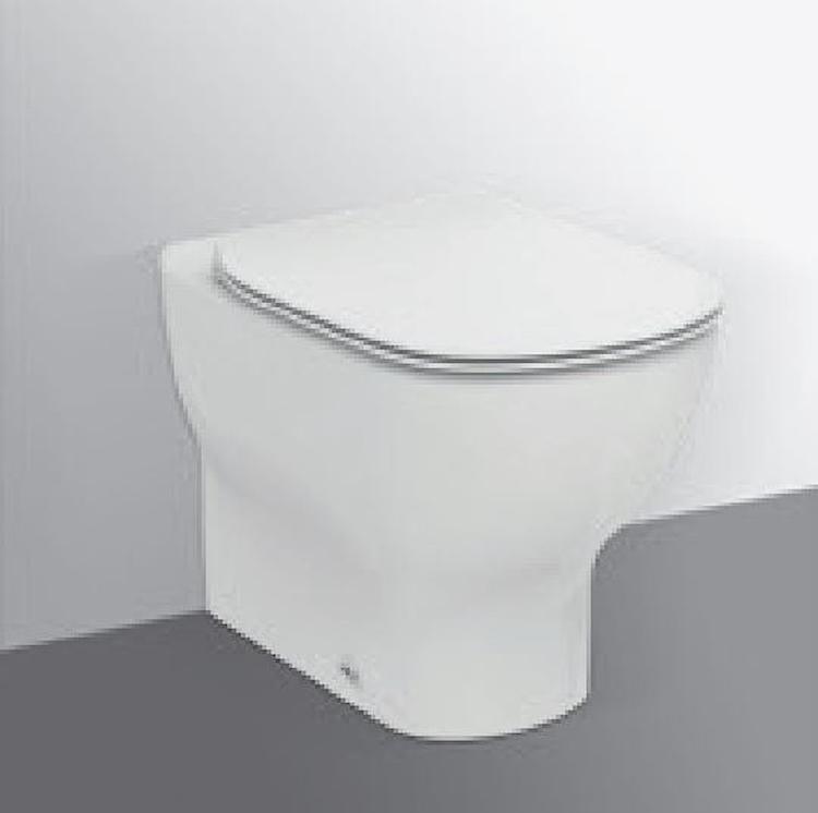 TESI NEW WC BTW AQUABLADE SLIM FILO PARETE BIANCO SETA codice prod: T3536V1 product photo