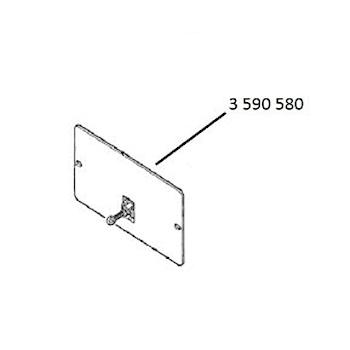 PLACCA INTERNA AQUASTOP PER P-80 codice prod: 3.590.580 product photo Default L2