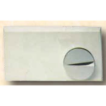 2000 PLACCA COMANDO BIANCO/CROMATO codice prod: 300002 product photo Default L2