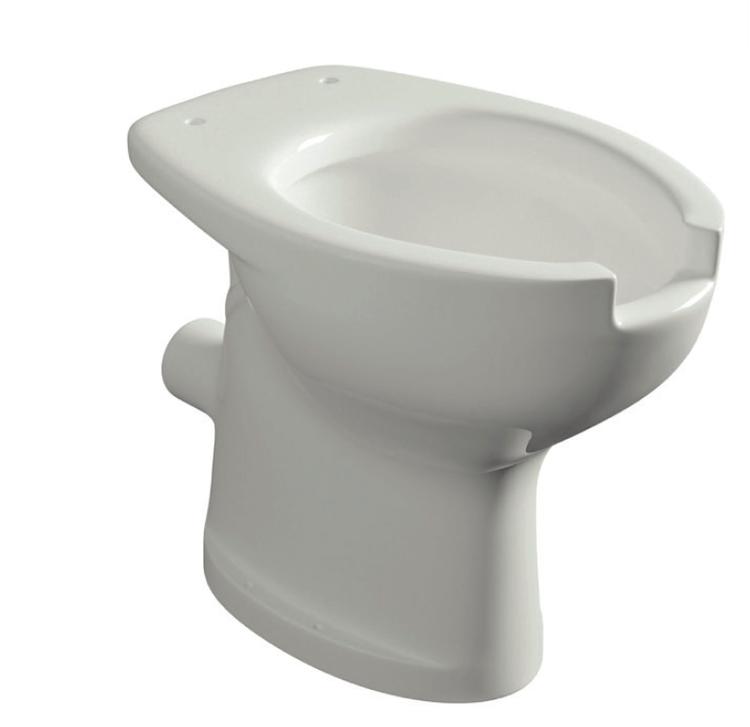 NEW WC FULL SCARICO PARETE C/APERTURA FRONTALE 4,5 LT.CERAMICA BIANCA codice prod: DSV18006 product photo