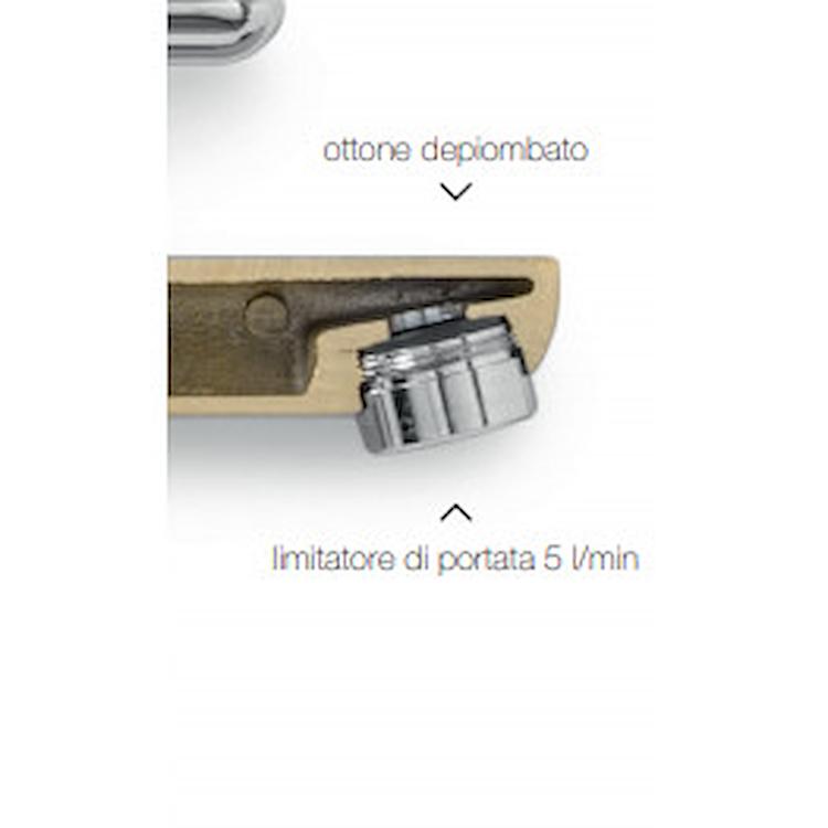 RICAMBIO RAEK220/27CR SCATOLA N10 AERATORI M18 X 1 AL PEZZO CROMATO codice prod: RAEK220/27CR product photo