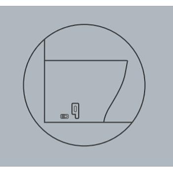 FISSAGGIO GHOST WC/BIDET PAVIMENTO/FILO codice prod: FI034 product photo Default L2