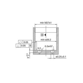 RICAMBI POP RCR107040 CARTUCCIA DIAMETRO 25 MM CON FONDO ROSSO codice prod: RCR107040 product photo Foto4 L2