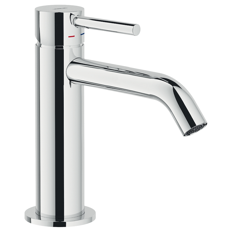 ACQUERELLI RUBINETTO LAVABO MONOLEVA A BOCCA ALTA codice prod: AQ93118/17CR product photo
