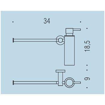 PLUS W4975 PORTA DISPENSER PORTA SALVIETTE VINTAGE codice prod: W49750VL product photo Foto1 L2