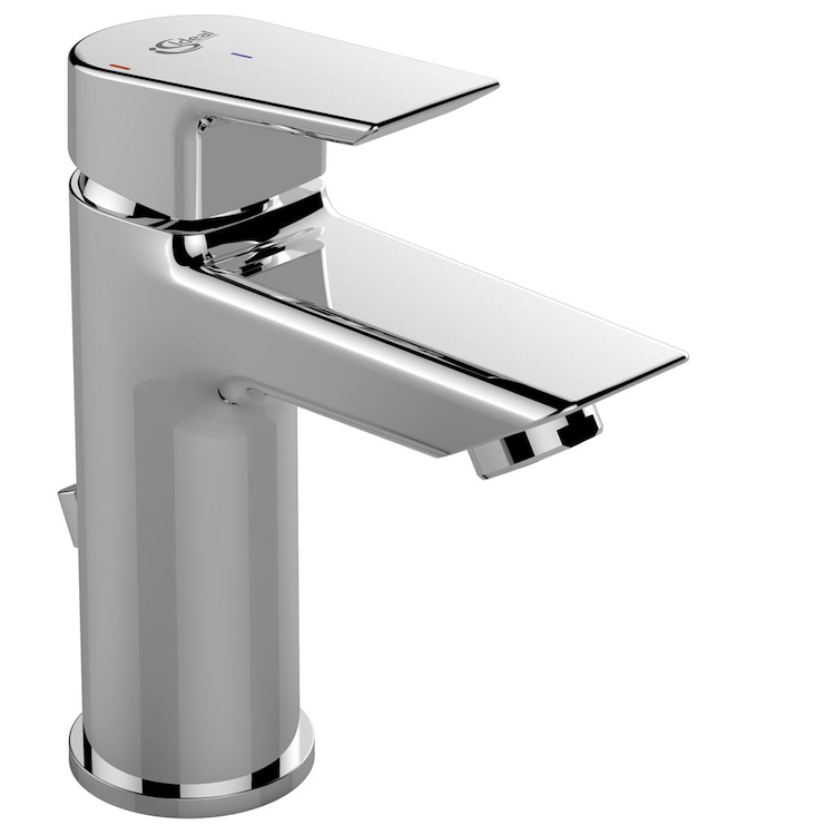 "CERAMIX A6543 MISCELATORE LAVABO BLUE START PILETTA 1""1/4 CROMATO              FLESS COLLEGAM codice prod: A6543AA product photo"