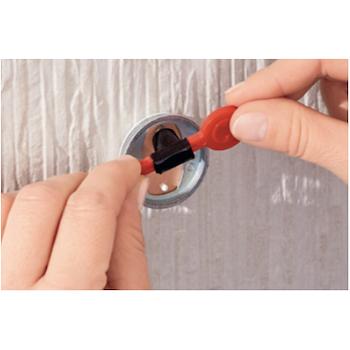 EXXCLUSIV 40415 PORTA ROTOLO WC CON RIPIANO ACCIAIO INOX CROMATO codice prod: 40415-00000-00 product photo Foto2 L2