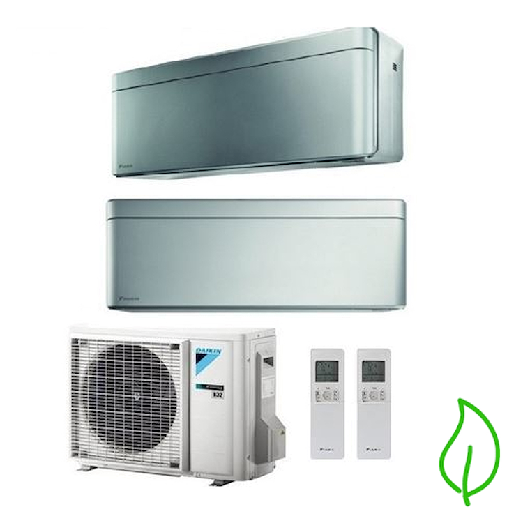 DUALSPLIT PURIFICATORE SERIE Stylish FTXA35BS FTXA50BS 2MXM50M 12000 18000 btu product photo