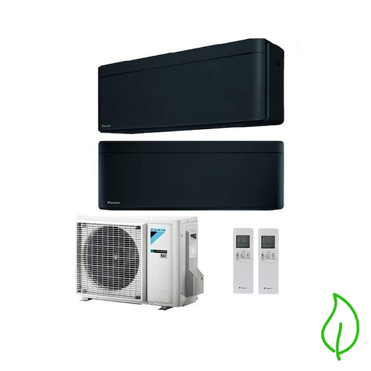 DUALSPLIT PURIFICATORE SERIE Stylish FTXA25BB FTXA35BB 2MXM50M 9000 12000 btu product photo