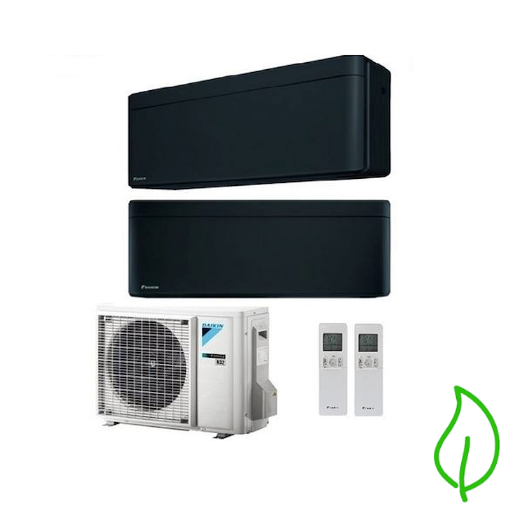 DUALSPLIT PURIFICATORE SERIE Stylish FTXA25BB FTXA42BB 2MXM50M 9000 15000 btu product photo