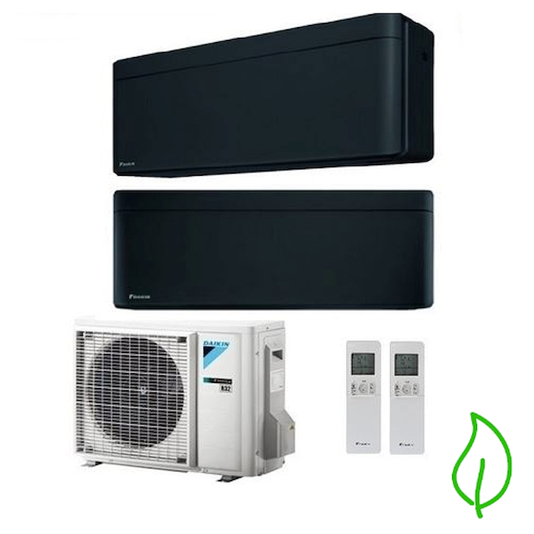 DUALSPLIT PURIFICATORE SERIE Stylish FTXA25BB FTXA25BB 2MXM50M9 9000 9000 btu product photo