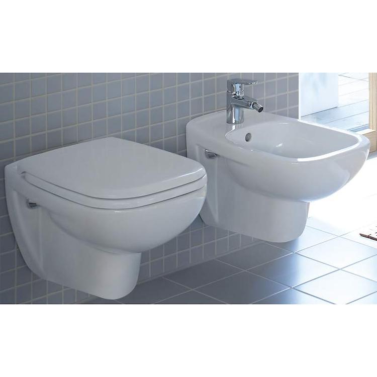 SERIE D-CODE SOSPESA WC + BIDET + SEDILE product photo
