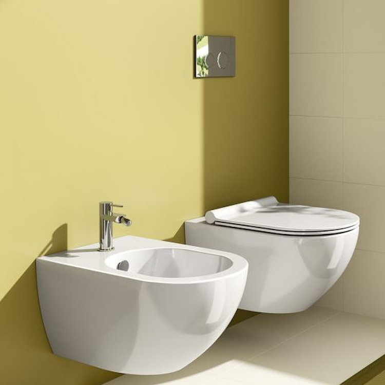 SERIE SFERA SOSPESA WC + BIDET + SEDILE product photo