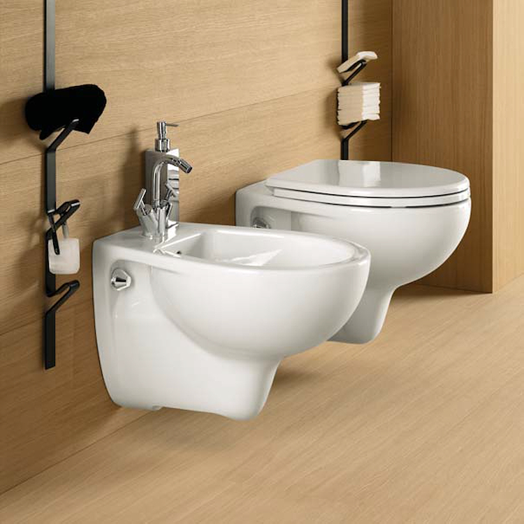 SERIE COLIBRI' 2 SOSPESA WC + BIDET + SEDILE product photo