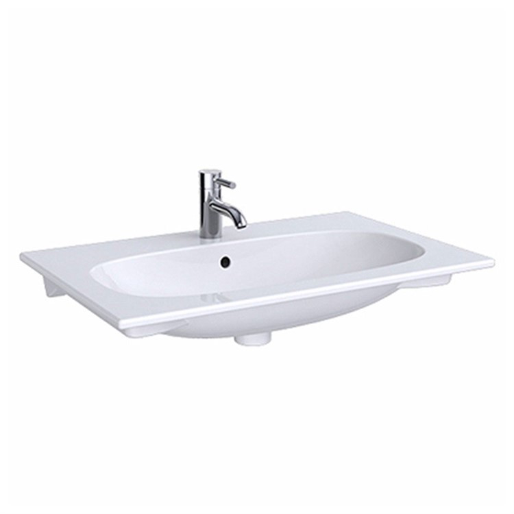 ACANTO 500.642.01.2 LAVABO SOSPESO SLIM 90 CM BIANCO codice prod: 500.642.01.2 product photo