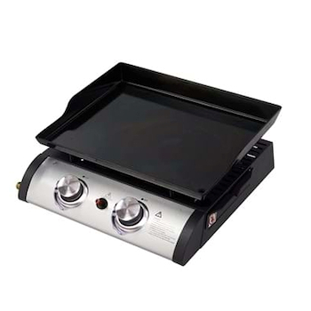 QLIMA FPG102 BARBECUE PORTATILE A GAS PIATTO 2 FUOCHI codice prod: FPG102 product photo Default L2