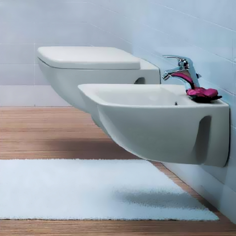 SERIE CANTICA SOSPESA WC T311661  + BIDET T506561  + SEDILE product photo
