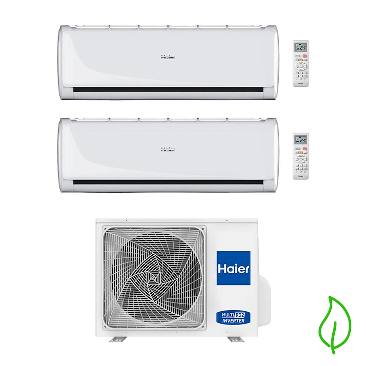 TUNDRA 2.0 CONDIZIONATORE DUALSPLIT  9000+12000 AS25TADHRA-1+AS35TADHRA-1+2U50S2SM1FA product photo
