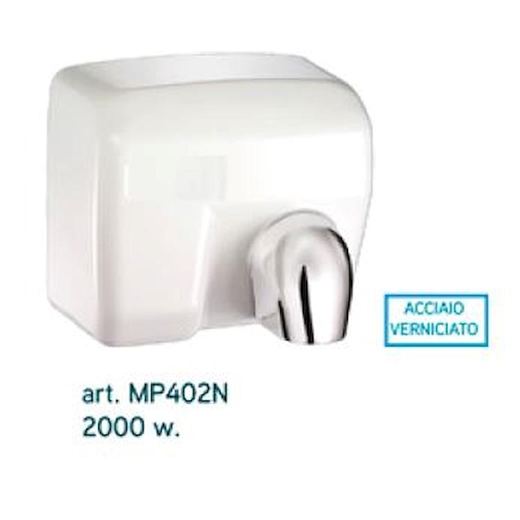 ACCESSORI MP402N ASCIUGAMANI ELETTRICO AUTOMATICO BIANCO codice prod: MP402N product photo