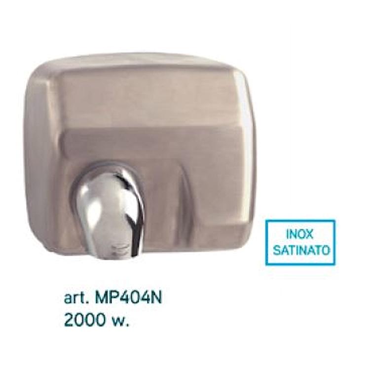ACCESSORI MP404N ASCIUGAMANI ELETTRICO AUTOMATICO ACCIAIO INOX SATINATO codice prod: MP404N product photo