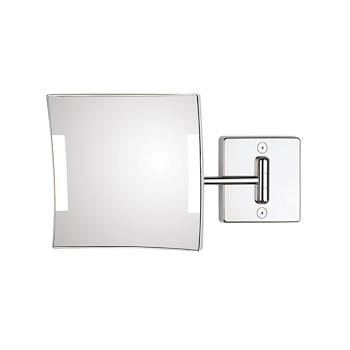 QUADROLO LED C60/1BA-3 SPECCHIO BRACCIO SINGOLO 3X INGRANDIMENTO CON LED codice prod: C60/1BA-3 product photo