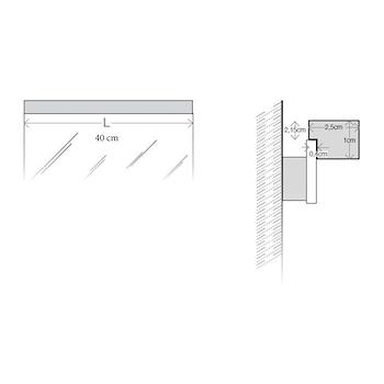 SARTORIA 7910/CA LAMPADA LED L40 3000K codice prod: 7910/CA product photo Foto2 L2