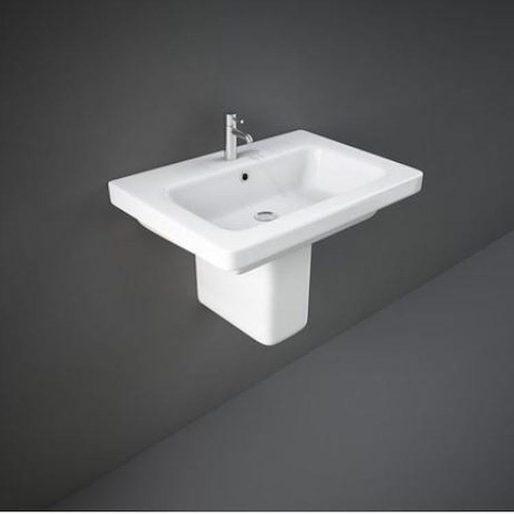 RESORT LAVABO A COLONNA 65X46 BIANCO codice prod: REWB00003 product photo