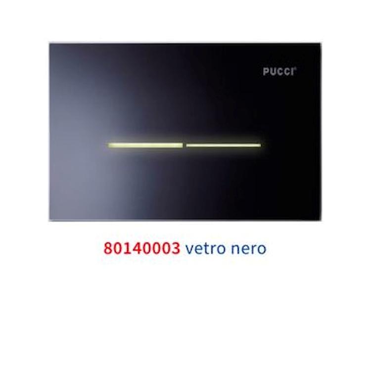 SFIORO ECO 80140003 PLACCA VETRO NERO codice prod: 80140003 product photo