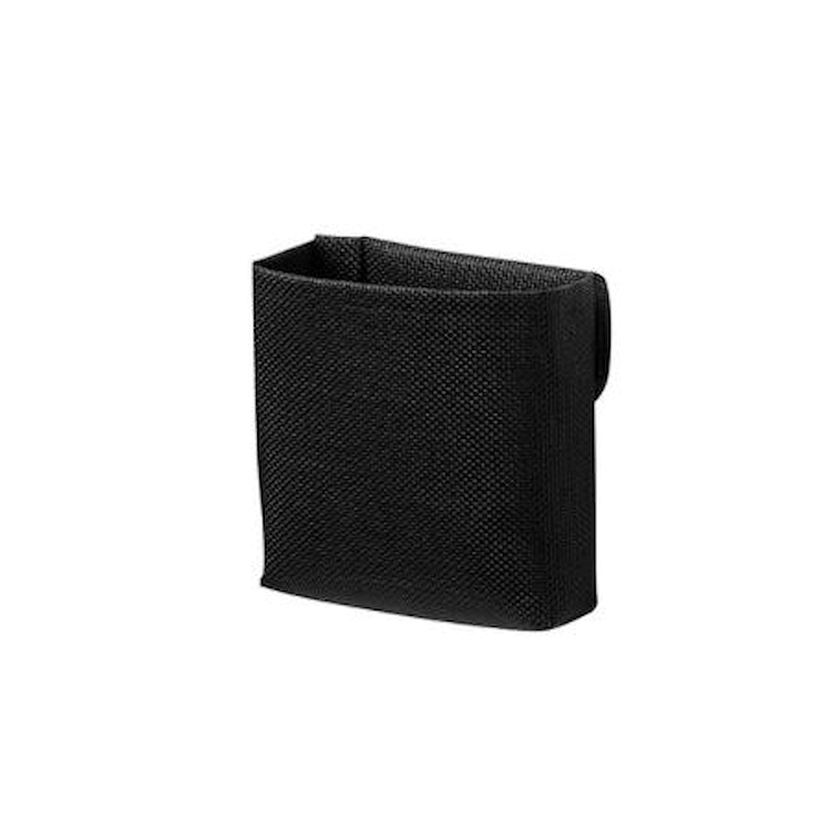 TAPE BASKET SMALL ONE CON TASCA SINGOLA NERO codice prod: EVTPBKSMN product photo