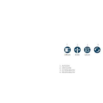 LUNES H WALK-IN 117/118,5 VETRO TRASPARENTE PROFILO SILVER codice prod: LUNESH120-1B product photo Foto1 L2
