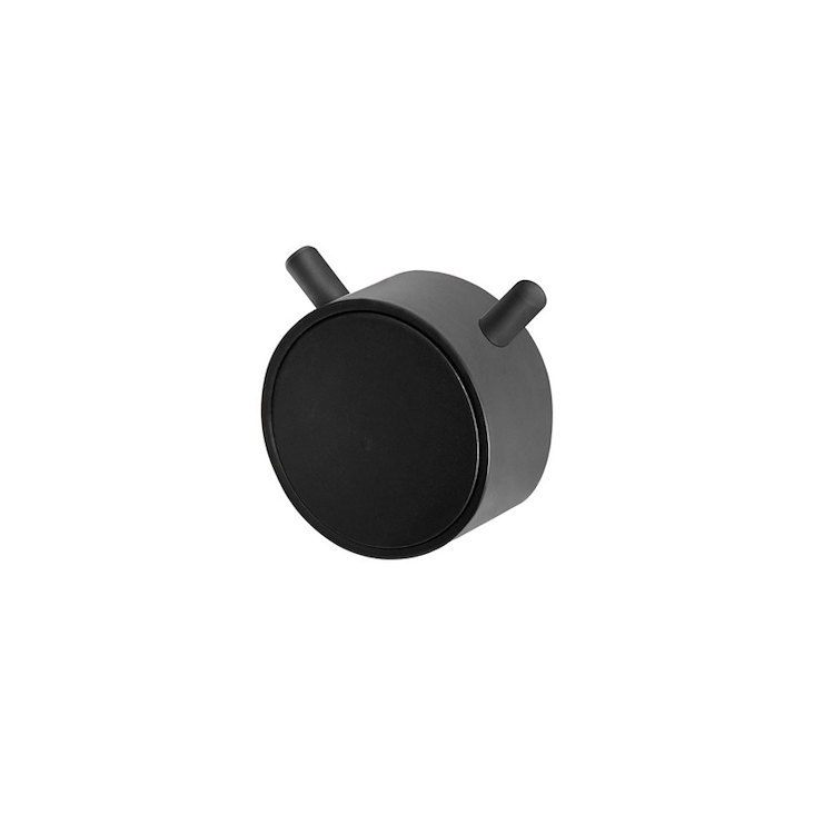 RING APPENDINO NERO OPACO codice prod: EVRGAPTON product photo