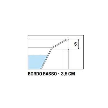 DIVINA 170X75 VASCA INCASSO BORDO 3,5 CM BIANCO LUCIDO codice prod: DI117975-A product photo Foto1 L2