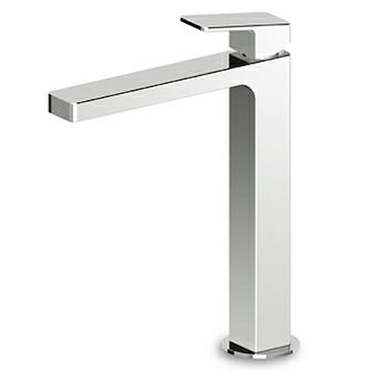 JINGLE RUBINETTO LAVABO MONOLEVA A BOCCA ALTA SENZA PILETTA codice prod: ZIN694 product photo