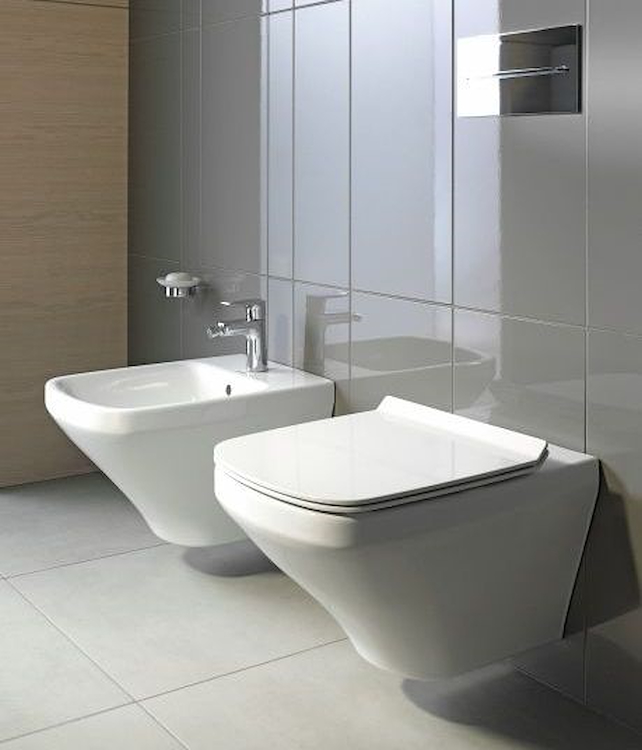 SERIE DURASTYLE SOSPESA WC SENZA BRIDA 2551090000 + BIDET 2282150000 + SEDILE 0063710000 product photo