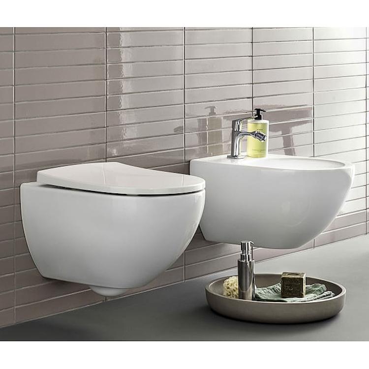SERIE ACANTO SOSPESO WC + BIDET + SEDILE RALLENTATO product photo