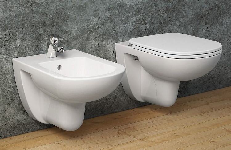 SERIE GEMMA2 SOSPESI WC J003001 + BIDET J003101+ SEDILE J523201 product photo