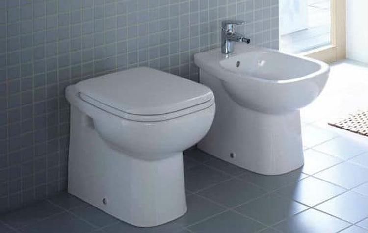 SERIE D-CODE A PAVIMENTO WC 2110010000+BIDET 223710000+SEDILE 0067310000 product photo