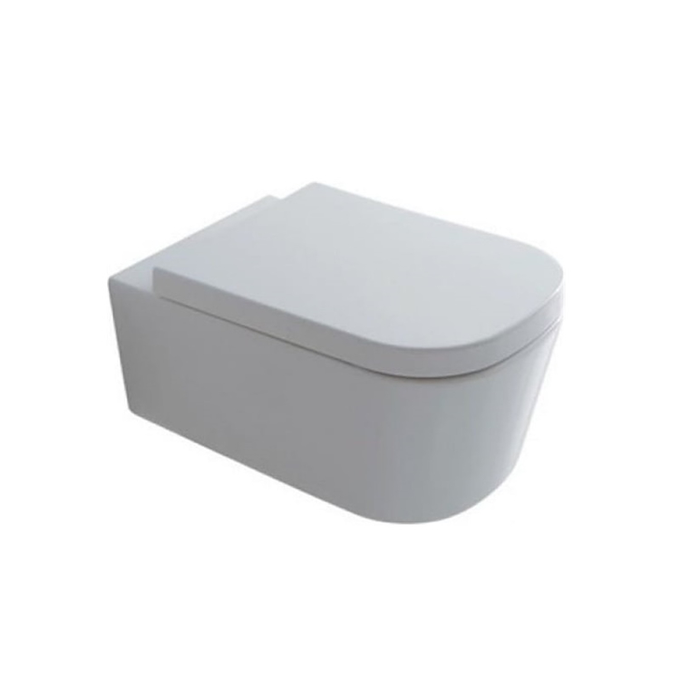 MEG11 WC SOSPESO SENZA BRIDA 55X35 BIANCO MATT codice prod: 5486MT product photo