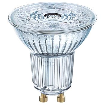 LAMPADINA LED FORMA A SPOT CHIARA ATTACCO GU10 EQUIVALENTE 50W codice prod: LED112803BLXBOX1 product photo Foto1 L2