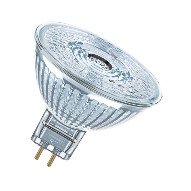 LAMPADINA LED FORMA A SPOT CHIARA ATTACCO GU5.3 EQUIVALENTE 35W codice prod: LED112742BLXBOX1 product photo